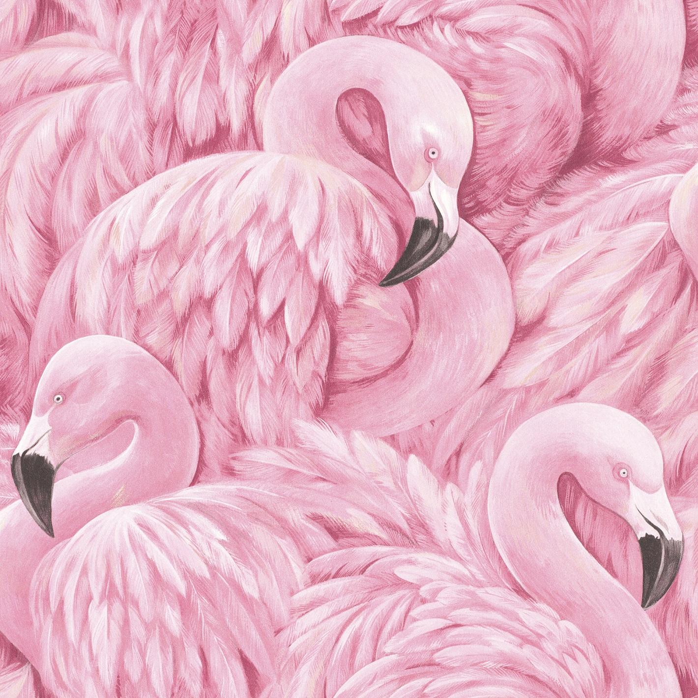 постер в розовых тонах идет